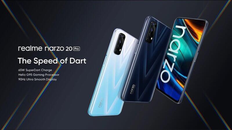 Realme Narzo 20, 20 Pro