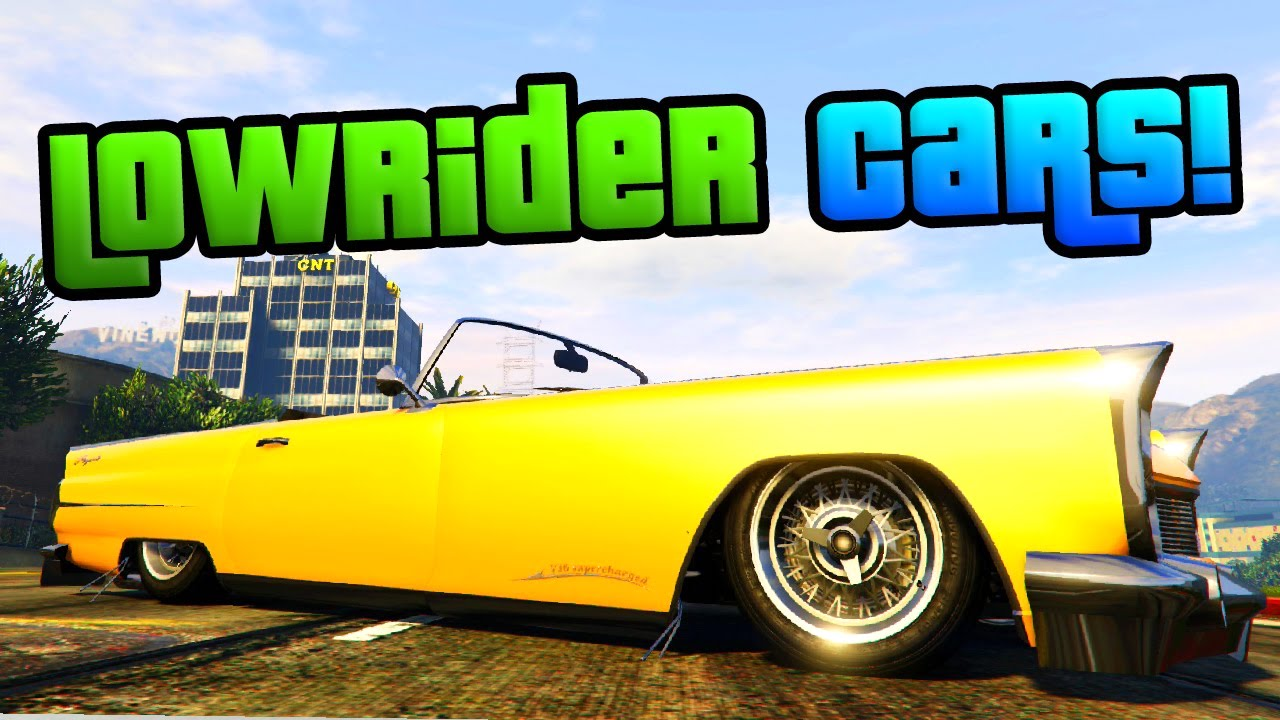 Top 5 Lowriders in the game