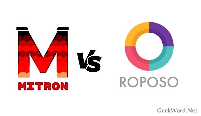 Mitron vs Roposo