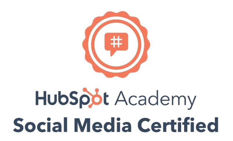 Social Media Certification 2021 - HubSpot