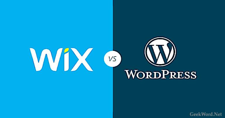 Wix vs WordPress 2021