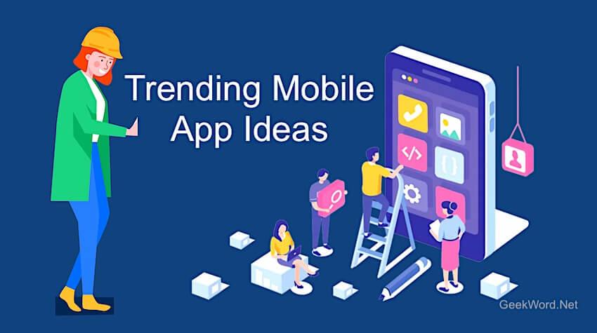 trending app ideas 2021