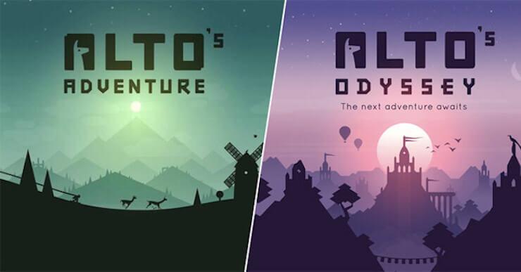 Alto's Adventure and Alto's Odyssey