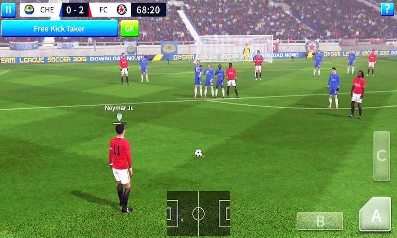 Dream League Soccer game for iphone, ipads,