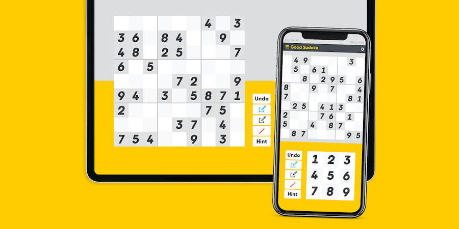 Sudoku for iphone game app