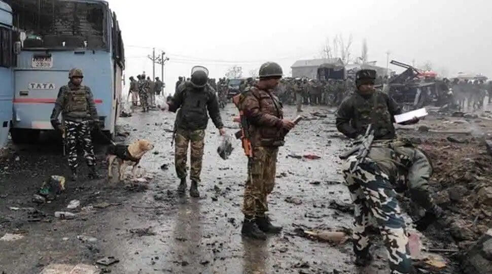 pulwama attack black day