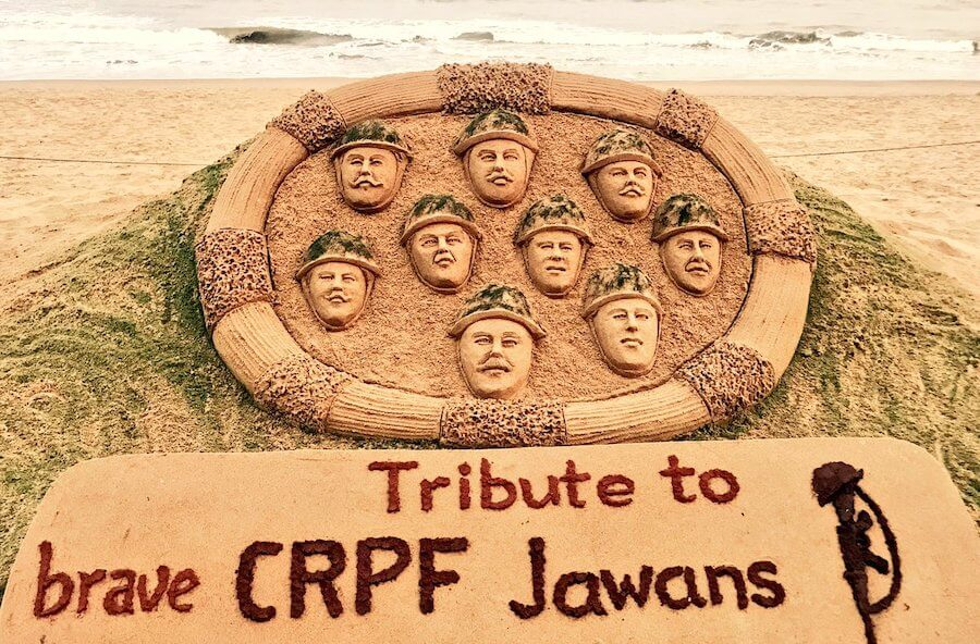 tribute to pulwama attack soldiers