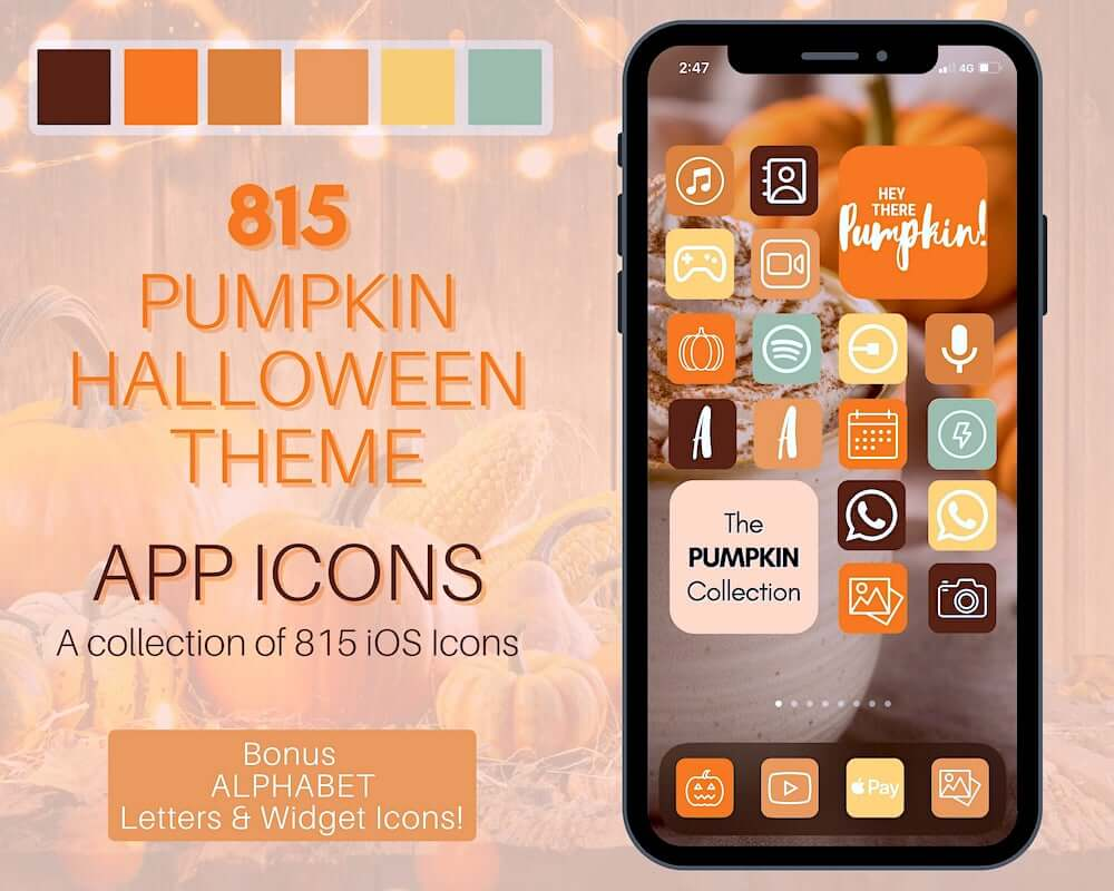 Fall And Pumpkin Theme